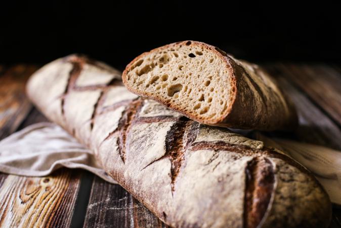 DLM Artisan Miche Bread