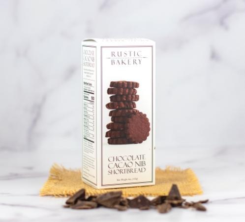 Rustic Bakery Chocolate Cacao Nib Shortbread