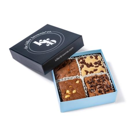 Killer Brownie Best Sellers: Original, Peanut Butter, Salted Caramel and Cookie Dough