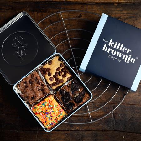 Killer Brownie® Create Your Own Gift Tin - 4 Count