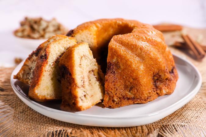 DLM Cinnamon Walnut Coffee Cake