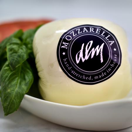 DLM Fresh Mozzarella Hand-stretched in our Cheese Shop