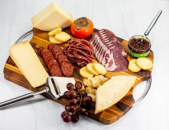 The Italian Job Meat and Cheese Board