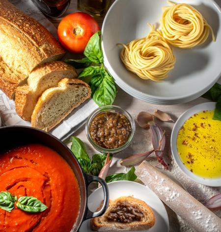 Ohio's Pasta Dinner Featuring Grist Fresh Bucatini