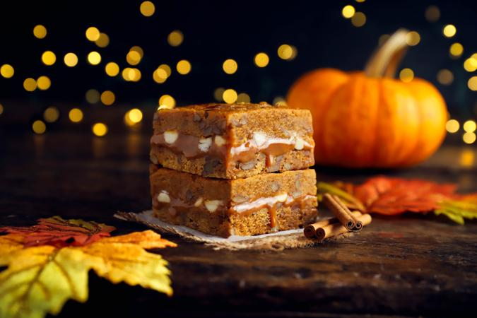 Pumpkin Killer Brownie