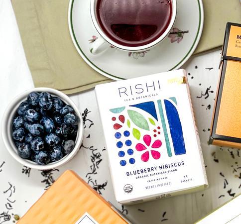 Rishi Blueberry Hibiscus Tea - Sachets