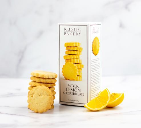 Rustic Bakery Lemon Shortbread Cookies