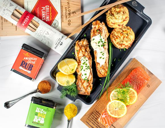 Seafood Lover's Grilling Kit