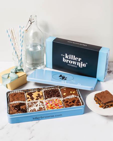 Killer Brownie® Create Your Own Gift Tin - 8 Count